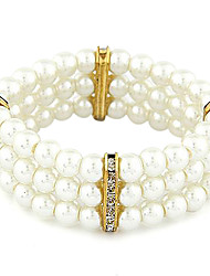 Fashion  Temperament Diamond Pearl Bracelet