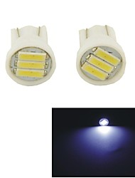 Carking™ T10-7014-3SMD Car LED Rome Lamp Clearance Lamp-(2PCS)White Light