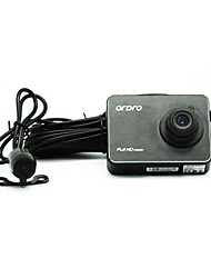 ORDRO Q504 2.7 Inch Dual Camera Channels 1080P Full HD 170Degree Safe Car Dash Camera
