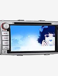 "DVD-плеер автомобиля 2 DIN android4.4 6,95 ""800 х 480 для Toyota Hilux 2012 встроенный в Bluetooth / GPS / RDS / 3d UI / МЖК / WiFi"