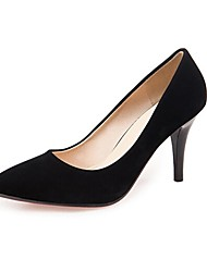 Women's Shoes Pointed Toe Stiletto Heel Suede Pumps Shoes More Colors available
