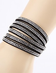 Fashion Rhinestone Buckle Ornamental Bracelet