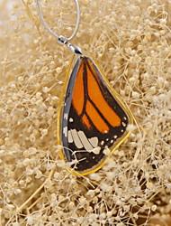 Schmetterling effect®real gestreiften Tiger Schmetterling einzigen Sieg Halsketten für Frühjahr fation Damen