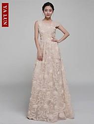 Yalun® Women's Sexty Casual Stereo Flower Elegant Dress