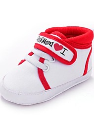 Baby Shoes Casual Canvas Fashion Sneakers Black/Red/White