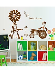 Stickers muraux Stickers muraux, le style heureux pvc agricole stickers muraux