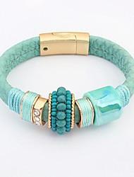 Cuff armband - Dames - Armbanden (Legering /Leer /Hars)
