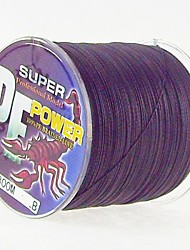 300M / 330 Yards PE Braided Line / Dyneema / Superline Fishing Line Black 28LB / 25LB / 20LB / 18LB / 10LB / 8LB