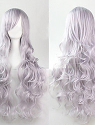 Cosplay Silver Fashion Must-have Girl High Quality Long Curly Hair Wig