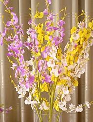 "37 ""l Satz 1 Flug Phalaenopsis Seidentuch Blumen"
