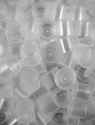 ITATOO™ 100pcs 20mm Clear Stand-self Disposable Tattoo Ink Cups Large Sizes for Tattoo Inks