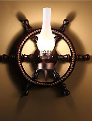 MAISHANG® Wall Lamp, One Light, and Glass
