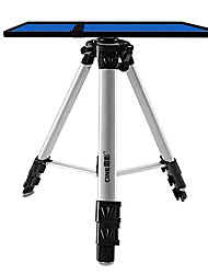 hauteur de 55inch alliage d'aluminium support de projecteur orientable trépied (15 kg de charge)