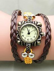 Women's Hot Hand-woven Beads Vintage Bracelet Watch
