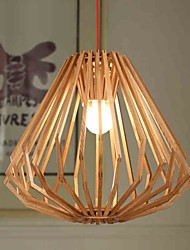 lustres maishang® mini-estilo tradicional / clássico sala de estar / quarto / sala de jantar / sala de estudo / escritório madeira / bambu
