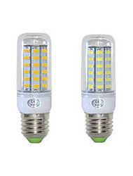 12W E26/E27 LED лампы типа Корн T 48 SMD 5730 1152 lm Тёплый белый / Холодный белый AC 220-240 V 1 шт.