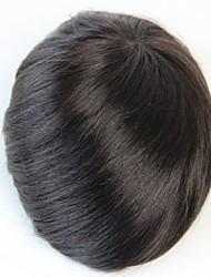 Муж. - Парики Прямой - Человеческий волос