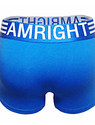 amright мужские комфорт хлопчатобумажное белье трусы боксер