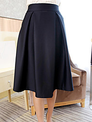 Women's Vintage High Waist Pleated Skirts(More Colors)