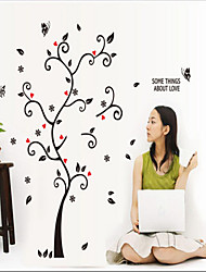 Wall Stickers Wall Decals, Happy Tree PVC Wall Stickers