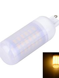Frosted G9 12W 1200LM 6500K/3000K 69-5730 SMD Warm/Cool White Light LED Corn Bulb (AC 220~240V)