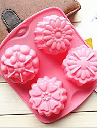 Fashiom Cake Mold Soap Jelly Pullding Modelling Cooking Cake Tools Cake Decorating Mould(Random Color)