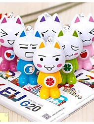 Lovely Cartoon Cat Battery Fan(Random Color)