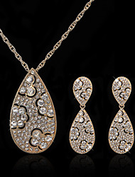 Jewelry Set Women's Anniversary / Wedding / Engagement / Birthday / Party / Special Occasion Jewelry Sets Cubic Zirconia / AlloyCubic