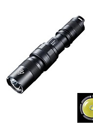 NITECORE MH1A 550 Lumens CREE XM-L U2 LED HAIII Mini Rechargeable Flashlight Torch Light (1XAA/14500, Black)