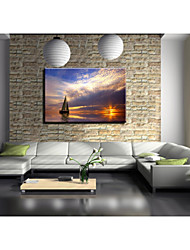 Landscape Canvas Print Giclee Print/Canvas Set One Panel Ready to Hang
