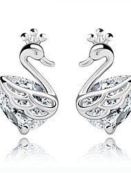 Women's high quality Sterling silver plating  Earrings