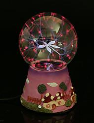 resina de la bola de cristal lavadero recargable llevó la lámpara