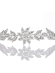 Sun Flower Women Alloy Tiaras With Rhinestone Wedding/Party Headpiece