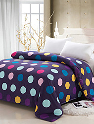 Yuxin® Purple Color Duvet Cover Fashion Soft & Comfortable Cute Colorful Dots Printed Full/Queen/King Size