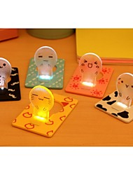 Energy Saving Ideas Bedside Card Small Night Lights (Random Color)