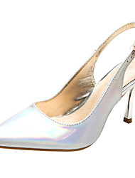 SEXYHER Womens Fashion 3.1 Inches High Heel In Four Color Wedding Party Shoes - WHITE
