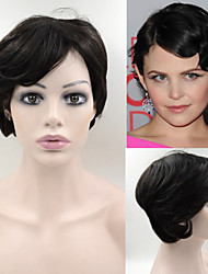 #1B 6inch Malaysian Real Hair Highlight Short Bob Wig for Black Women free shipping in stock