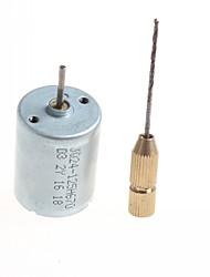 diy caseiro micro motor de perfuração