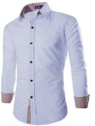 MEN - Vrijetijds shirts (Katoen)met Lange Mouw