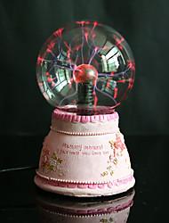 resina magia recargable bola de cristal llevó la lámpara