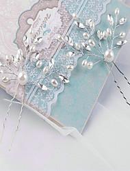 Women Imitation Pearl Flowers With Wedding Headpiece One Piece