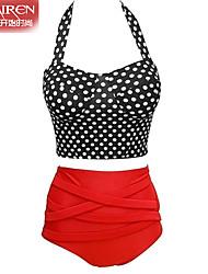 Bikinis ( Nylon/Autres ) Soutien-gorge Rembourré - Licou pour Femme