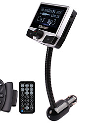 FM Transmitter With 206 Frequencies/Bluetooth 2.0/Car Charger