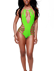 Woman's Summer New Sexy backless Swimsuit Cut Out One Piece Swimsuit