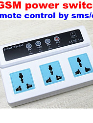 Gsm Socket Power Switch Remote Control By Cellphone Call Or Sms For Smart Home Automatic