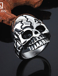 Kalen Men's Jewelry High Quality Cheap Stainless Steel Skull Ring