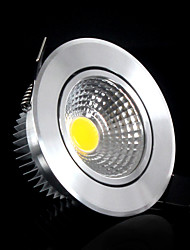 Bestlighting 3 W 1 COB 300-350lm LM 6000-6500K K Warm White/Cool White Rotatable Recessed Lights AC 100-240 V