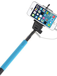 Mowto Z01 Handheld Selfie Rod Monopod for GoPro Hero & Shutter for IOS / Android Cellphones-Blue