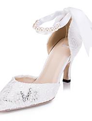Chaussures de mariage - Ivoire / Blanc - Mariage / Soirée & Evénement - Talons / Bout Pointu - Talons - Homme