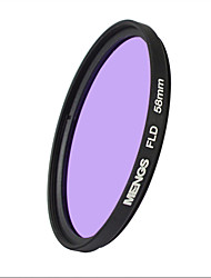 MENGS® 58mm FLD Fluorescent Filter For Canon Sony Nikon Fuji Pentax Olympus Etc SLR Camera